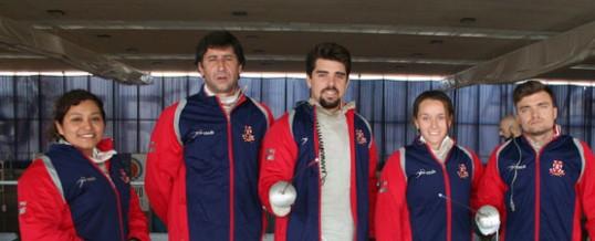 Cinco podios en la 1ª Copa de Andalucía