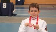 Poker de medallas en el Criterium Nacional