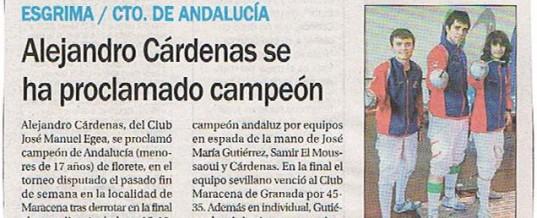 Campeonatos de Andalucía menores de 17 años