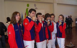 Tres medallas de plata y una de bronce en la Copa de Andalucía menores de 20 años.