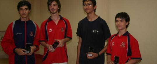 Éxito de participación y repoker de medallas