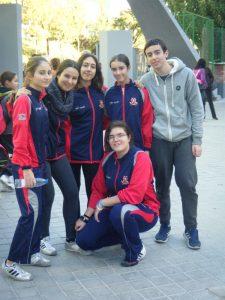 Equipo participantes del Club José Manuel Egea